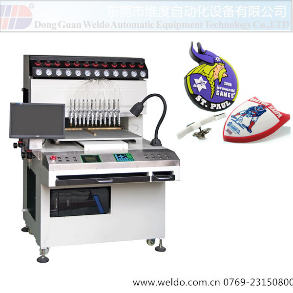 Weldo Rubber PVC patch Dropping Machine