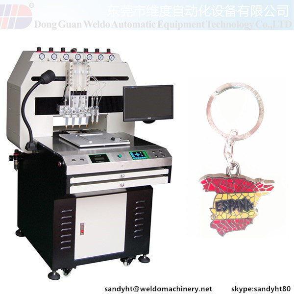 Keychain Painting Machine