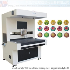 Bi-Component Doming Sticker Dispensing Machine