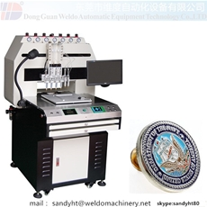 Soft Enamel Lapel Pins Enamelling Machine