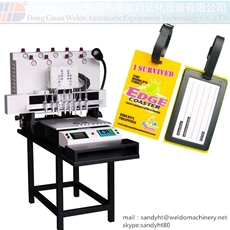 PVC luggage tag Dispensing Machine
