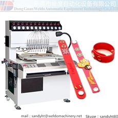 Silicon Wrist Band Dispensing Machine