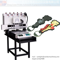 8 color PVC magnent dispensing machine
